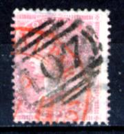 Gran-Bretagna-072 - 1855-57 - Y&T /Un. N.18 (o) - Filigrana (4c) Capovolta - Privo Di Difetti Occulti. - Oblitérés