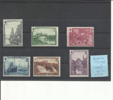 BELGICA YVERT 293/98  MH * - Belgium