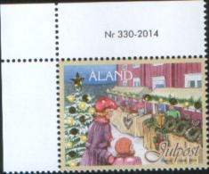 Aland 2014 Christmas Noel Natale 1v  Complete Set ** MNH - Aland