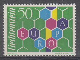 Liechtenstein - Europa - CEPT - 1960 - MNH - M 398 - 1960