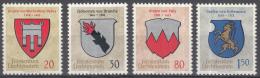 Liechtenstein - Wappen (I) - MNH - M 440-443 - Liechtenstein