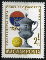 HONGRIE  1524* 2fo  + 1fo Polychrome  Coupe D´Europe Centrale De Football - Unused Stamps
