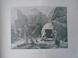 Southwest Africa HERERO Camp      - 1906 Hungarian Print  2AFK256.1 - Altre Collezioni