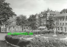 Sachsen Foto AK 09350 Lichtenstein / Kr. Hohenstein-Ernstthal 1984  Marktplatz - Lichtenstein