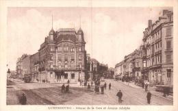 LUXEMBOURG AVENUE DE LA GARE ET AVENUE ADOLPHE PAS CIRCULEE - Luxembourg - Ville