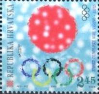 HR 1998-449 OLYMPIC GAMES NAGANO, CROATIA-HRVATSKA, 1v, MNH - Hiver 1998: Nagano