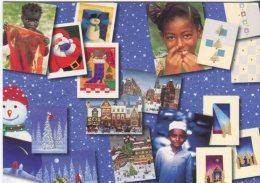Free Card Advertising Postcard, Unicef Kortene (Unicef Charity Appeal) 55 - Publicité