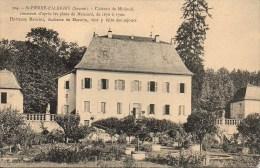73 St-PIERRE-d'ALBIGNY  Château De Minjoud - Saint Pierre D'Albigny