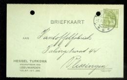WW-1 * HANDGESCHREVEN BRIEFKAART COMITE VLUCHTELINGEN Uit 1917 Van LEEUWARDEN  Naar VLISSINGEN ( 9825L) - Periode 1891-1948 (Wilhelmina)