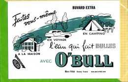 BUVARD & blotting paper : L'eau qui fait des bulles avec O'BULL
