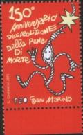 San Marino 2015 150 ° Anniversario Dell'abolizione Della Pena Di Morte 1v Complete Set ** MNH - Unused Stamps