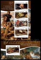 tg15115ab Togo 2015 Painting 375th memorial anniversary of Peter Paul Rubens 2 s/s