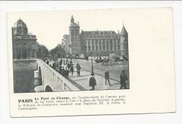 Paris  Pont Du Change     Avec  Texte Explicatif - France