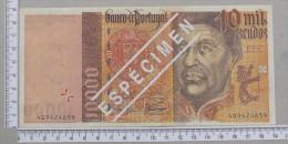 PORTUGAL  10000  ESCUDOS  1998  REPRODUÇÃO - ESPECIMEN     -  90MM*192MM  (Nº12253) - Portugal