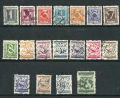 AUTRICHE- Divers Timbres De 1925-27- Oblitérés - Used Stamps