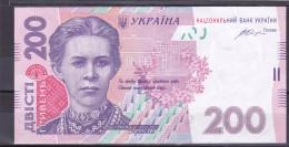 UKRAINE - 200 Hryven 2014  XF/aUNC  Pick 123e  Sig. Gontareva - Ucraina