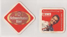 Schwechater Brauerei Österreich Bier , 1994 , Radmarathon Cup - Beer Mats