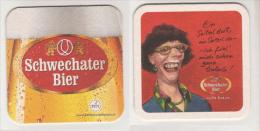 Schwechater Brauerei Österreich Bier , Ein Seiterl Dort - Bierdeckel