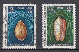 Shell (AN) Nieuw Hebriden 1972  Mi Nr 327 + 327 - Engelse Legende