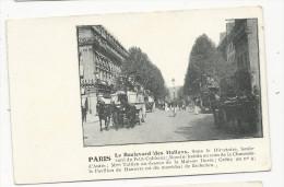 Paris  Boulevard Des Italiens     Avec  Texte Explicatif - Frankreich