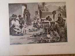 Deutsch Ostafrika -  Elementary School   -   1906 Hungarian Print  2AFK508.1 - Altre Collezioni