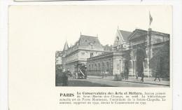 Paris      Le Conservatoire  Des ARTS ET METIERS       Avec  Texte Explicatif - France