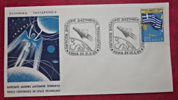 Brief Griechenland GREECE 1969 FDC Space Briefmarken - FDC