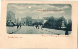 ALLEMAGNE RARE Et Très Belle CPA ZWEIBRUECKEN ZWEIBRÜCKEN Hauptstrasse Mit Bismarkdenkmal - Zweibruecken