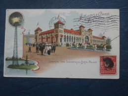 Lewis Et Clark Expositon Portland 1905  Liberal And Industrial Arts Palace - Phare - Circulée 1905 - L212 - Portland