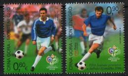Montenegro 2006 Football World Championship Germany, Soccer, Set MNH - 2006 – Germany