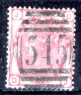 Gran-Bretagna-113 - 1873-80 - Y&T/U N.51 (o) - Filigrana (6) - Privo Di Difetti Occulti. - Oblitérés