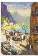 Heures Inoubliables - Randonnée De Vacances En Volkswagen - Artwork By Victor Mundorff  -  CP - Voitures De Tourisme