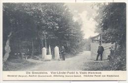 Vaals - Aken - Grenze - Grens - Kelmis - Vierlanderblick - Aachen - Neutral Gebiet - Moresnet - 1910 - ZELDZAAM! - Vaals