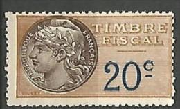 FISCAL /  N° 8 NEUF** SANS CHARNIERE / MNH - Steuermarken