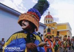 Nicaragua. Unica. Original. Toro Huaco: Baile Tradicional - Danse Traditionnelle - Traditionele Dans. 180 X 130 Mm. - Nicaragua