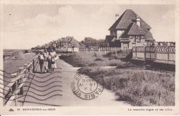 CPA Bernières-sur-Mer - La Nouvelle Digue Et Les Villas - 1938 (16779) - Courseulles-sur-Mer