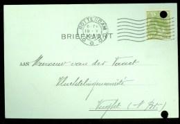 WW-1 * HANDGESCHREVEN BRIEFKAART COMITE VLUCHTELINGEN Uit 1917 Van ROTTERDAM Naar VUGHT  ( 9829t) - Brieven En Documenten