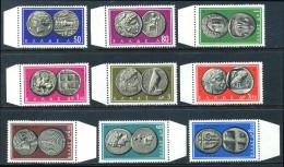 [L] GREECE 1963 - Ancient Coins II - MNH**
