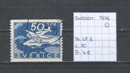 Zweden 1936 - Yv. LP. 6 - Michel 239 Gest./obl./used