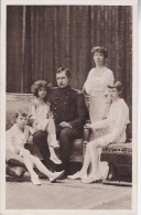 Koning Albert En Gezin - Familles Royales