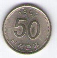 Corea Del Sud 50 Won 1983 - Corea Del Sud