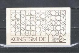 Zweden 1970 - Yv. Boekje C646 - Michel MH24 Gest./obl./used - 1951-80