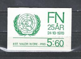Zweden 1970 - Yv. Boekje C672a - Michel MH691C Gest./obl./used - 1951-80