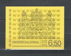 Zweden 1971 - Yv. Boekje C702 - Michel MH29 Gest./obl./used - 1951-80