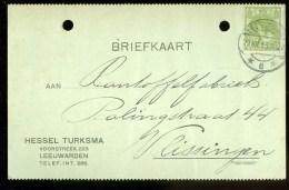 WW-1 * HANDGESCHREVEN BRIEFKAART COMITE VLUCHTELINGEN Uit 1915 Van LEEUWARDEN Naar VLISSINGEN ( 9830j) - Periode 1891-1948 (Wilhelmina)
