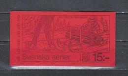 Zweden 1980 - Yv. Boekje C1109 - Michel MH1127C Gest./obl./used - 1951-80