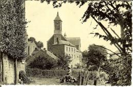 """CP De CHEVETOGNE """" Hotel De L'Iwoigne Chevetagne , Un Coin Du Village """" - Ciney"""