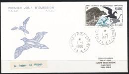 Franz.Gebiete I.d.Antarktis - Mi.Nr .     241    Gestempelt -     FDC - FDC