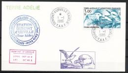 Franz.Gebiete I.d.Antarktis - Mi.Nr .     208      Gestempelt -     FDC - FDC