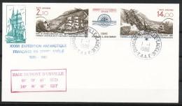 Franz.Gebiete I.d.Antarktis - Mi.Nr .     216 - 217      Gestempelt -     FDC - FDC